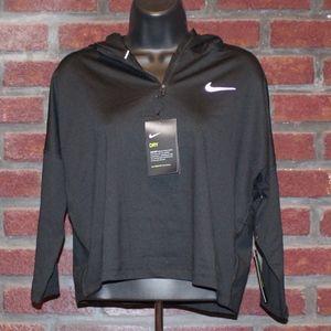 Ladies Nike Dry Fit Running Hoodie